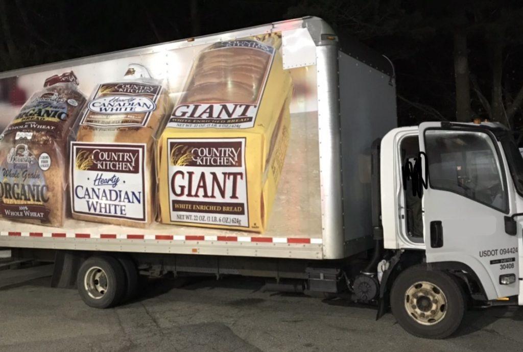 NJ bread truck